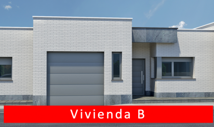 Planos y Superficies Vivienda B